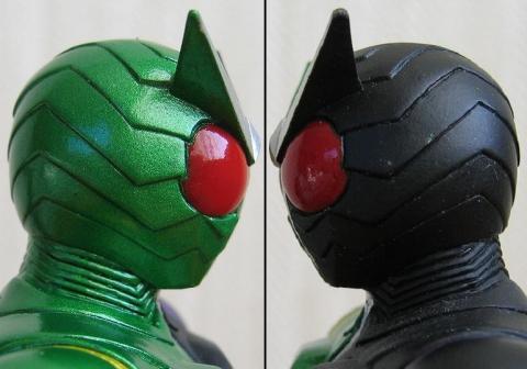 ライダーヒーローシリーズW01 仮面ライダーW(ダブル) サイクロンジョーカー