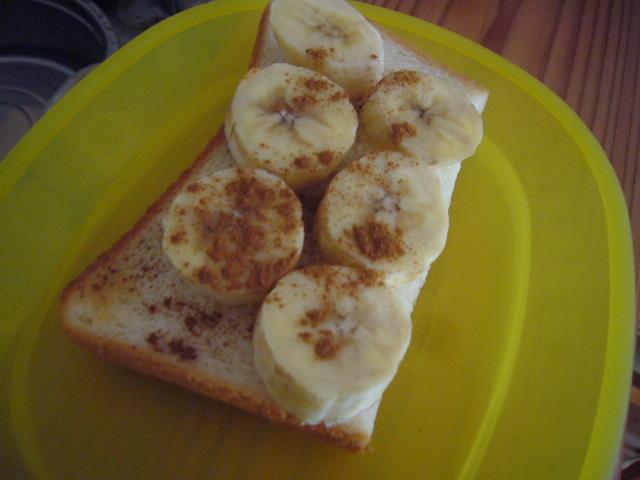 バナナシナモン