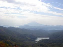 雷岩からの富士山