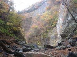 百尋の滝からの紅葉