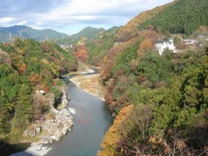 神代橋からの景色