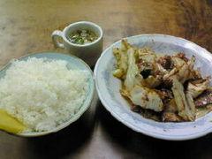 北華飯店_ホイコーロー定食