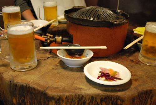 ケケレ_ビールと前菜
