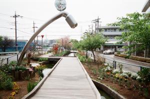 井田中ノ町の用水路