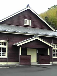 宇和町小学校講堂