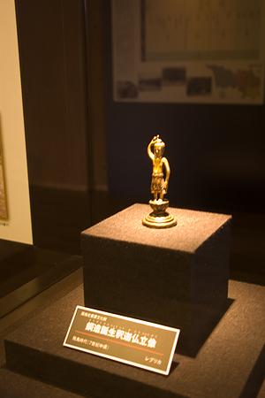銅造誕生釈迦仏立像