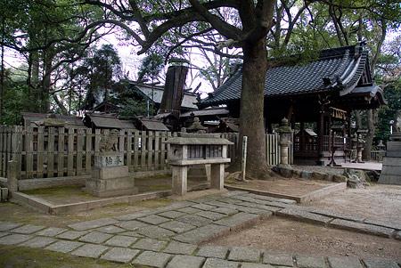 片山神社境内の様子