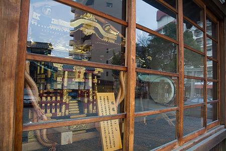 片山八幡の神輿
