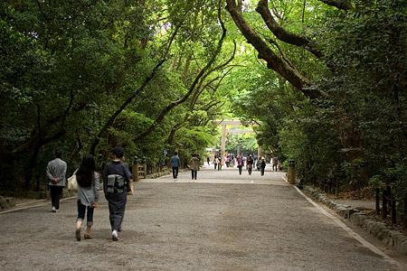 熱田神宮境内の風景