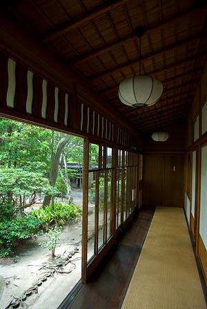 日本屋敷廊下