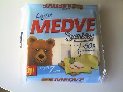 クマさんチーズカロリー控えめ