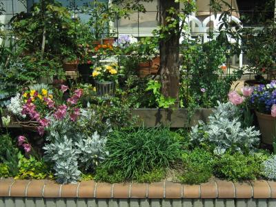 道路側花壇