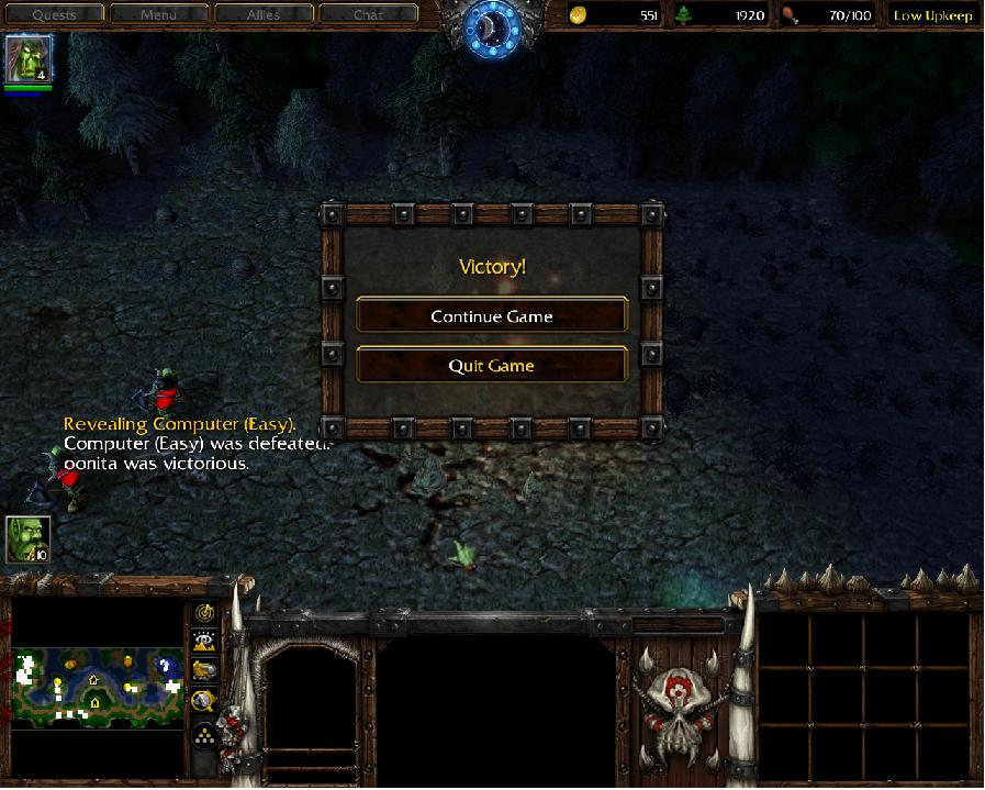 WC3 easy