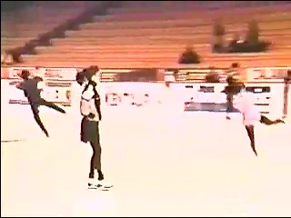 side by side Triple Axel