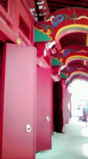 成田山廊下