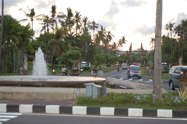 バリ島の公園