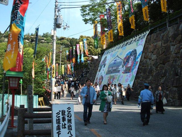 歌舞伎の道中