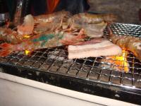 モサエビは焼いてもおいしい!癖になります。