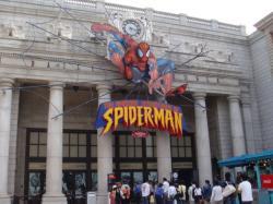 スパイダーマンおもしろくて2回も乗っちゃいました!