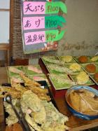 冨永でも天ぷらたくさんありました!