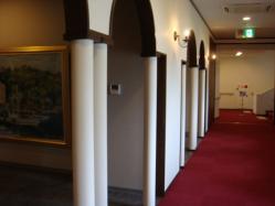 白鳥城の廊下