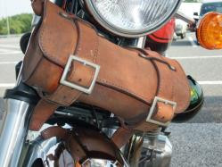 テツが旅に出る前にパインフィールドでオーダーメイドしたツールバッグ