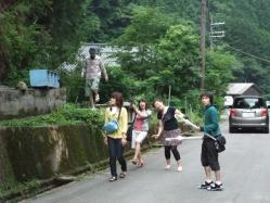 お腹いっぱい!運動がてら歩いて阿瀬渓谷に行きましょう!