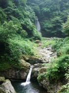 阿瀬渓谷 源太夫滝といもじが滝
