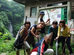 阿瀬渓谷散策でした!