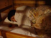 お先におやすみ~2人目