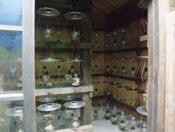 ランプ小屋を覗いてみました