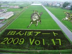 田んぼアート2009 vol.17