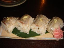 さんまの押し寿司 ボリュームあります!