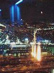 ランプの炎が綺麗でしょ(*^_^*)