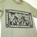 ハワイアンモチーフTシャツ