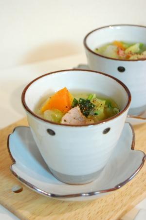 野菜入れまくりスープ