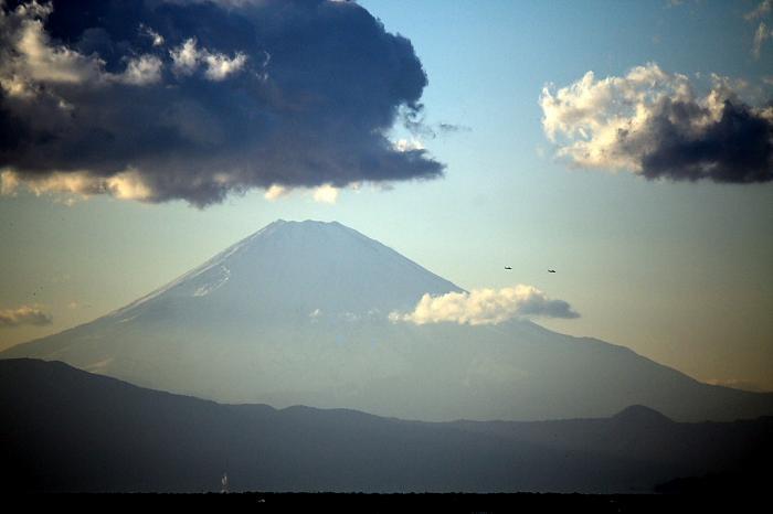 富士山飛行1
