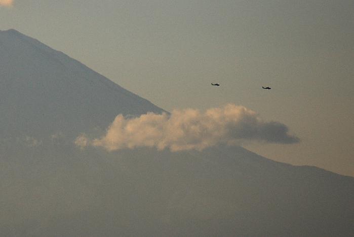 富士山飛行2