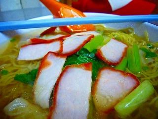ペナン島 ワンタン麺