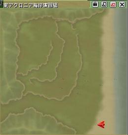 東軍出現位置