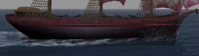 軽クリッパーの船体