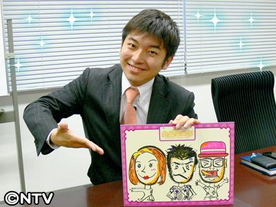 キラキラした笑顔の藤田アナウンサー