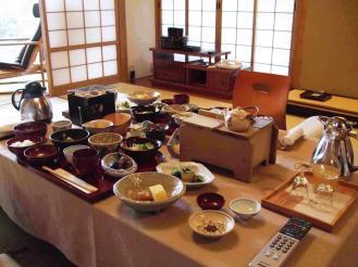 石亭 朝食① (2)