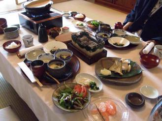 石亭 朝食② (1)