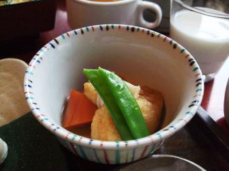 だいこんの花朝食① (10)