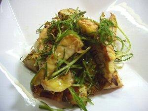 筍とおかひじきの炒め物