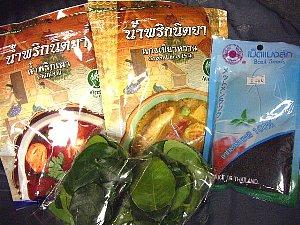 タイ料理の材料