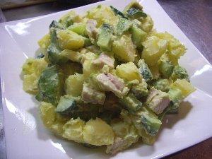 ポテトアボカドサラダ
