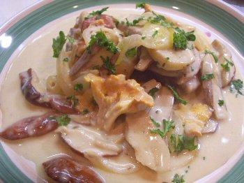 チキンと茸のクリーム煮