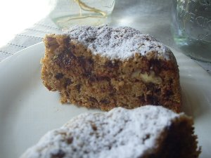 パン粉のケーキ
